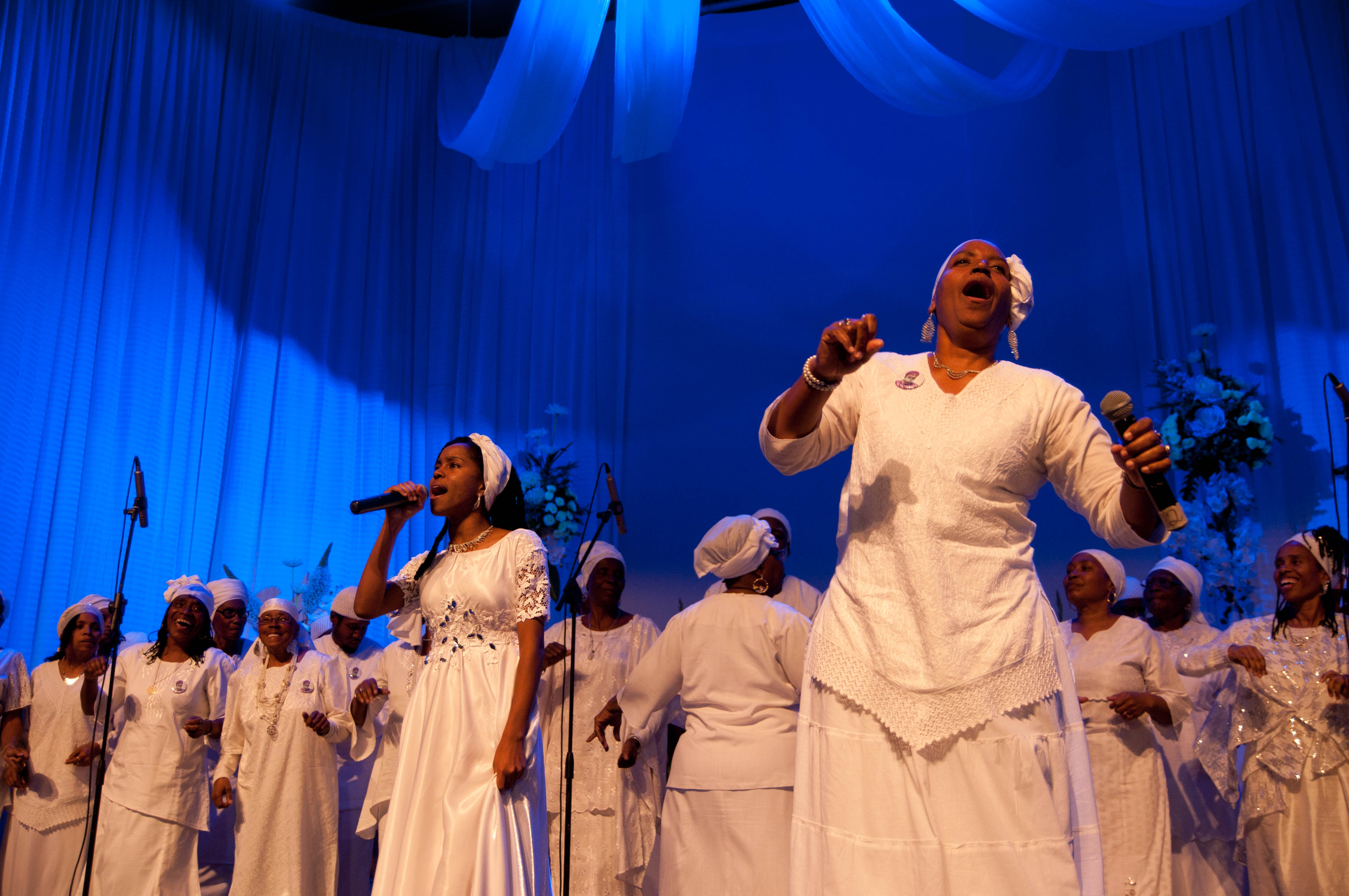 With song and dance, African Hebrew Israelites honor their departed leader